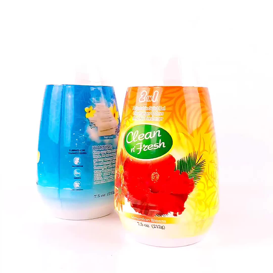 212g Aroma Quarto Ambientador Gel Higiênico Perfumado Gel de Purificadores de Ar Do Carro Sólida para a clareira