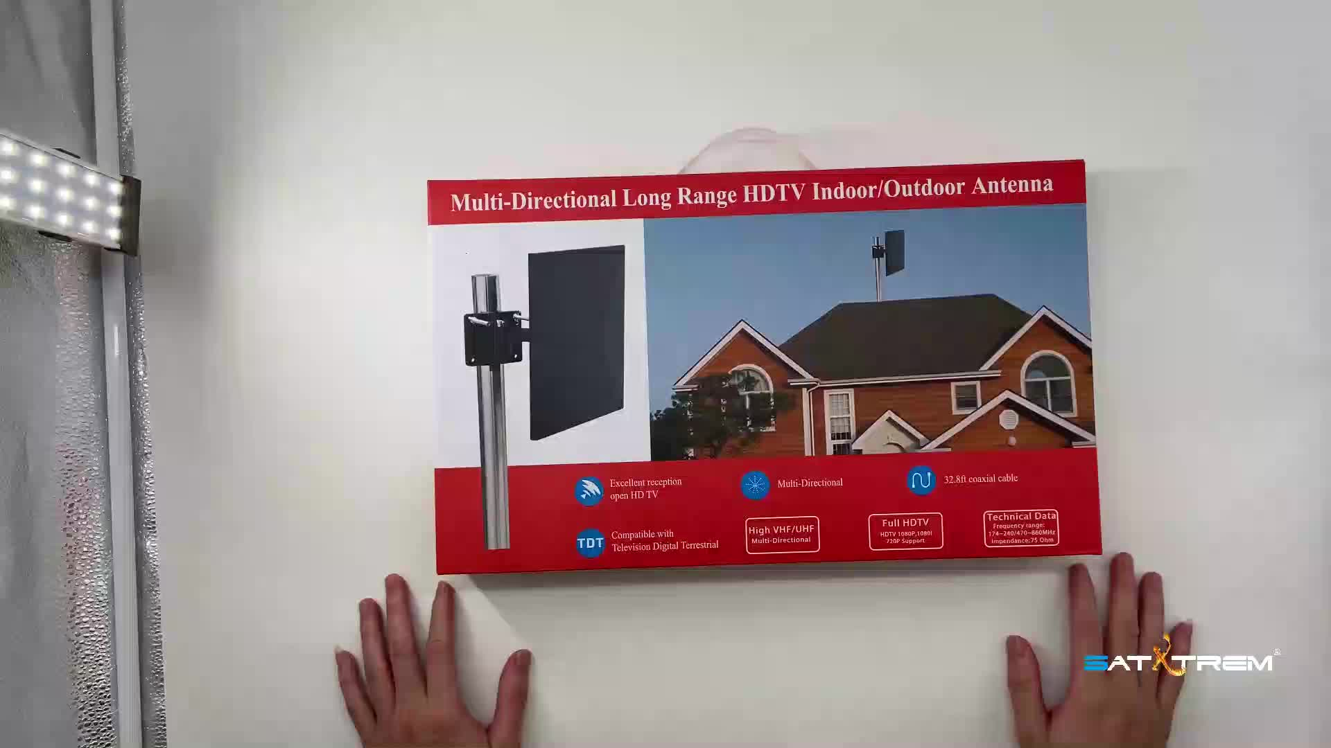 Outdoor TV Antenna DVB-T2 HDTV Digital TV Antenna Terrestrial Indoor DVBT2 Antenna HD Amplifier Signal Booster DVB T2 VHF/UHF