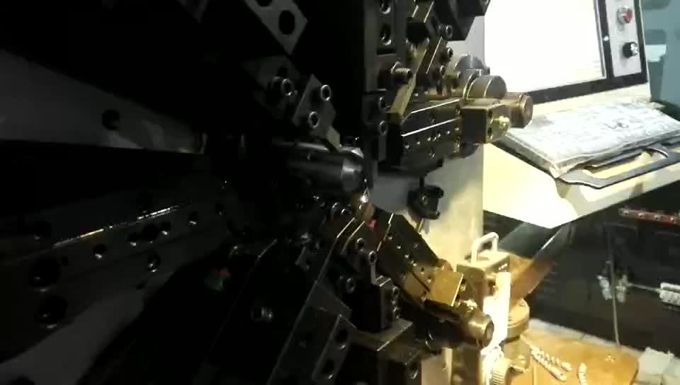 0.2-2.5 mm CNC cam-less computer automatic spring machine