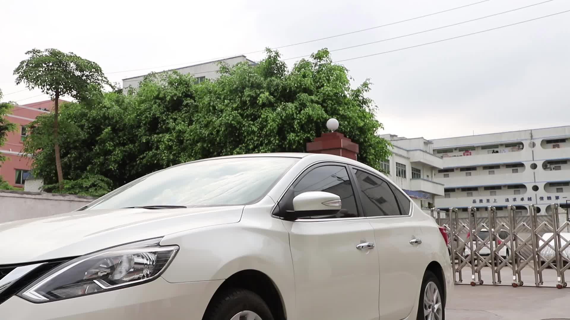 Nano Auto Car Rearview Mirror Anti Fog Film Rainproof Waterproof Screen Protector