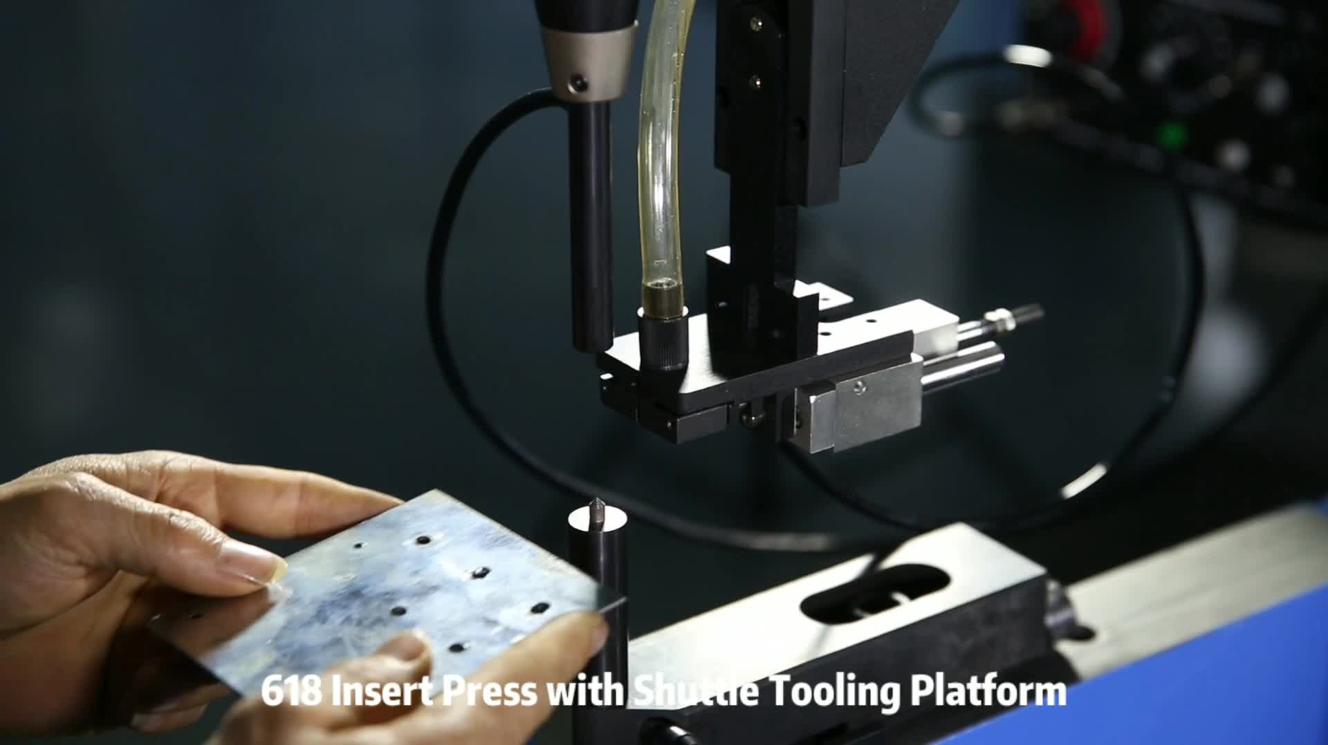 Automatic Fastener Tooling System For Nut Insert Machine