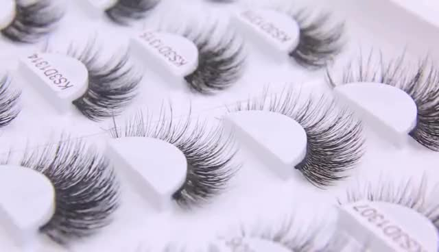 Worldbeauty private label mink wimpers 3d mink wimpers