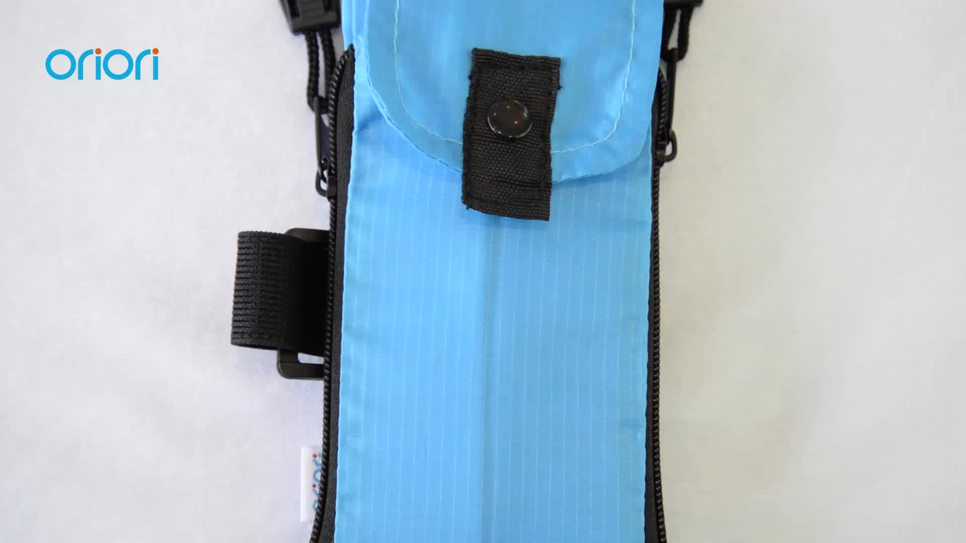 Universal sports running foldable armband bags for mobile phones