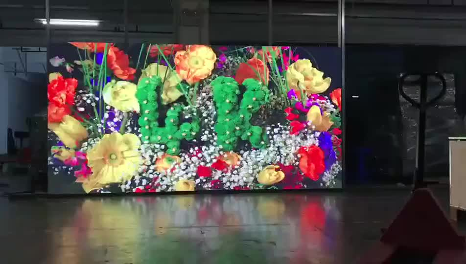 Small pixel video wall HD P2.5 indoor led screen panel
