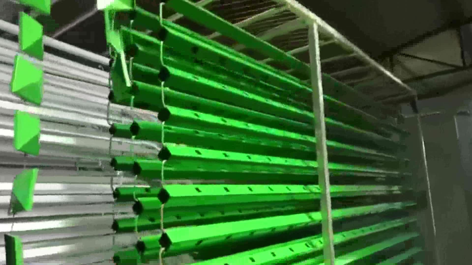 Sıcak satış düşük maliyetli komple toz boya sistemi tam Set toz kaplama hattı