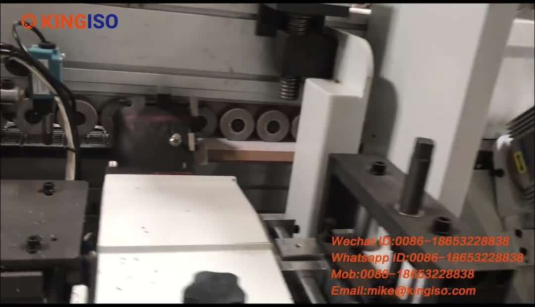 45 degree abs edge banding machine full automatic bevel edge banding machine with pre-milling