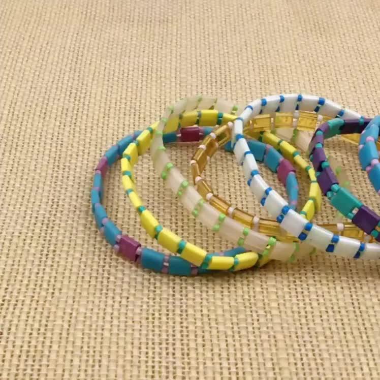 17 Styles Bohemian Miyuki Delica Tila Beads Bracelets For Women Summer Beach Jewelry Custom Bracelet