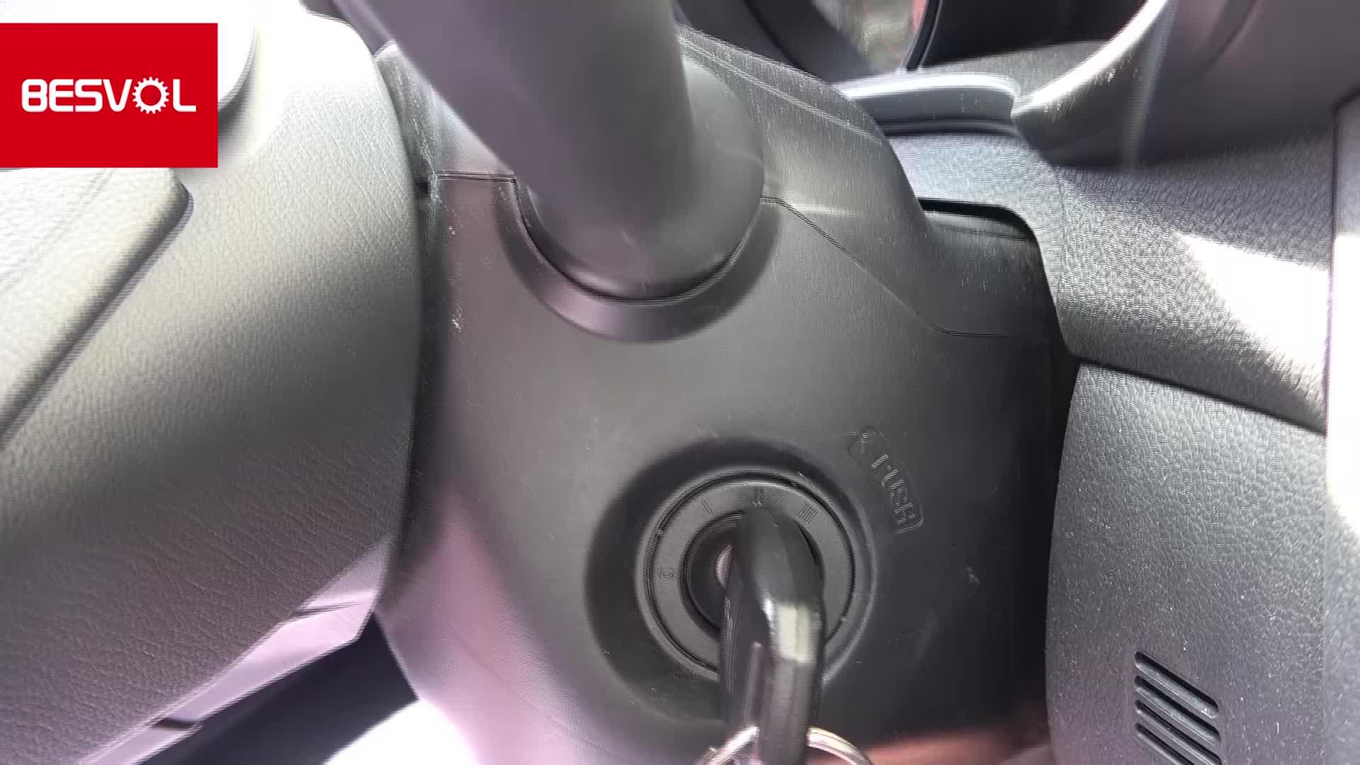 14 Inch Bruin Lederen Auto Stuurhoes
