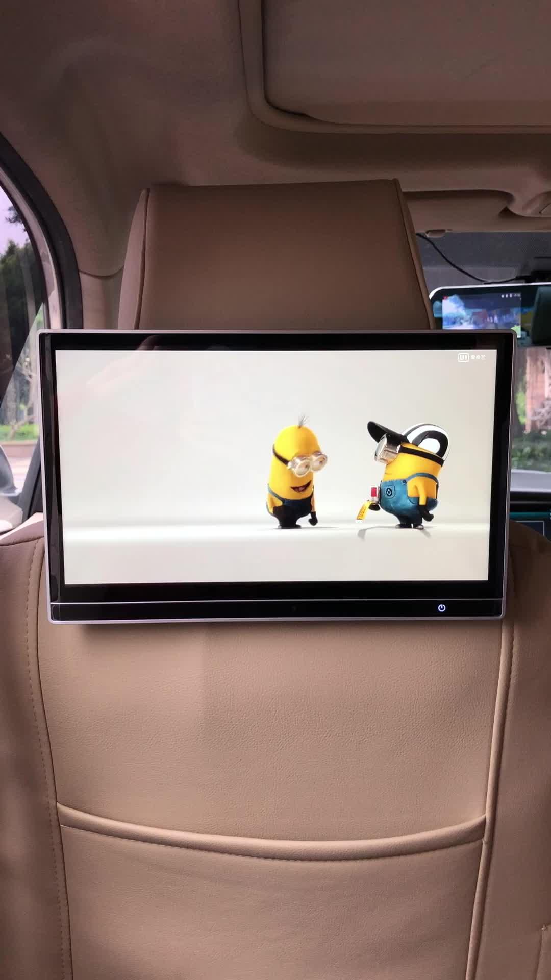 2020 Novo Android 8.1 Telas Traseiras Para BMW Video Player Encosto De Cabeça Monitor Do Carro Série 1 2 3 4 5 6 7 8X4X5X6 GT i3 i8 M2 M3 M4 M5