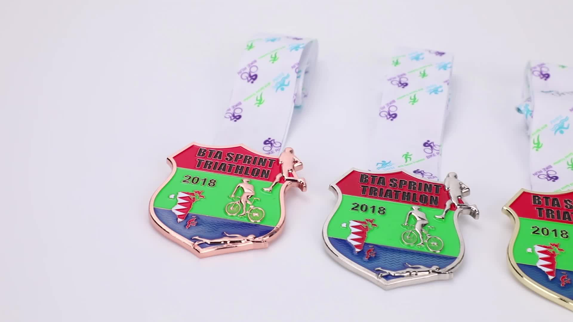 cartoon kids animal shark fishing trail runner runs running sport medal medal with ribbon