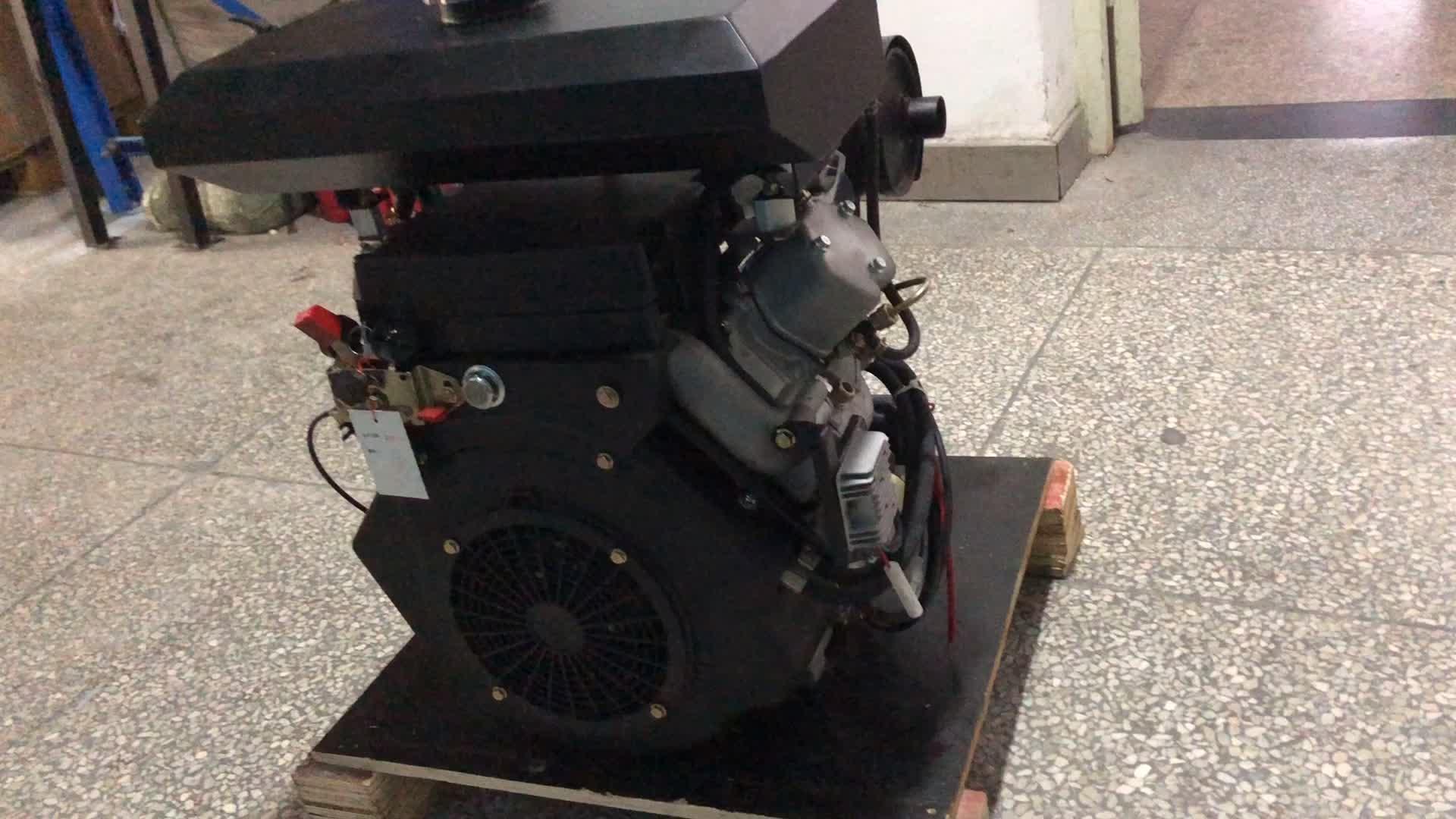Air cooled 2 cylinder V type 4 stroke SCDC R2V88 diesel engine