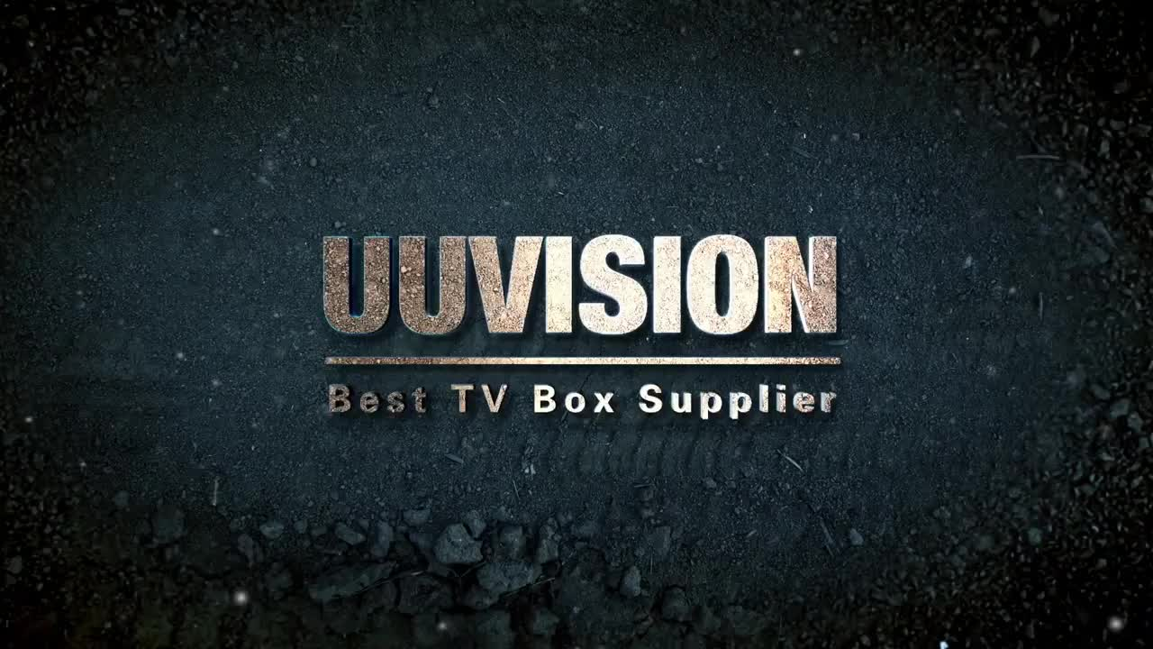 UUVISION QHDLIVE PRO WITH TPTV BOX SUPPORT 2800 CHANNEL AND 3000VODS