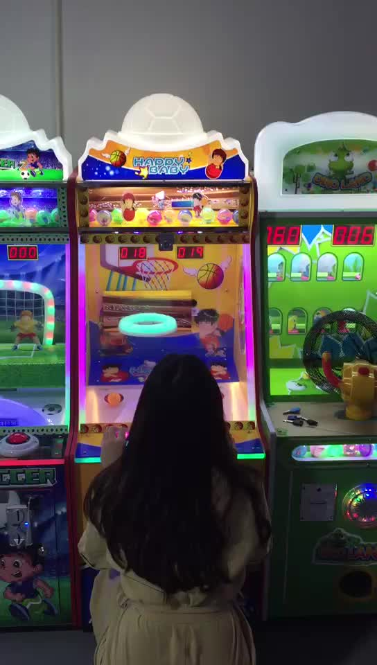 Factory Price Indoor Coin Operated Games for Malls Kids Basketball Machine