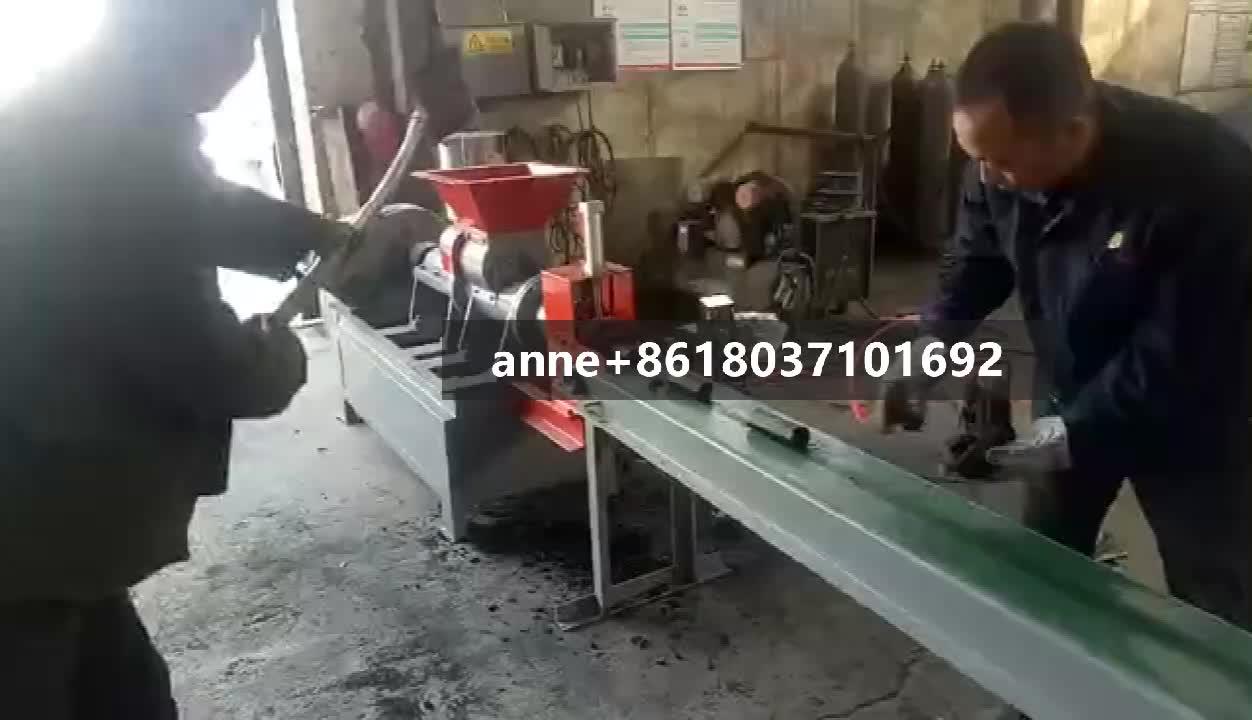 ที่ดีที่สุดราคาถ่านหิน rod extruder เครื่อง, สายการผลิต, ถ่านหิน stick briquette extruder