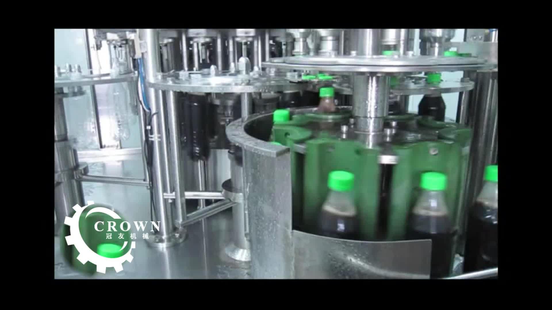 Refrigerantes carbonatados máquina de engarrafamento de água/máquina de enchimento fabricante