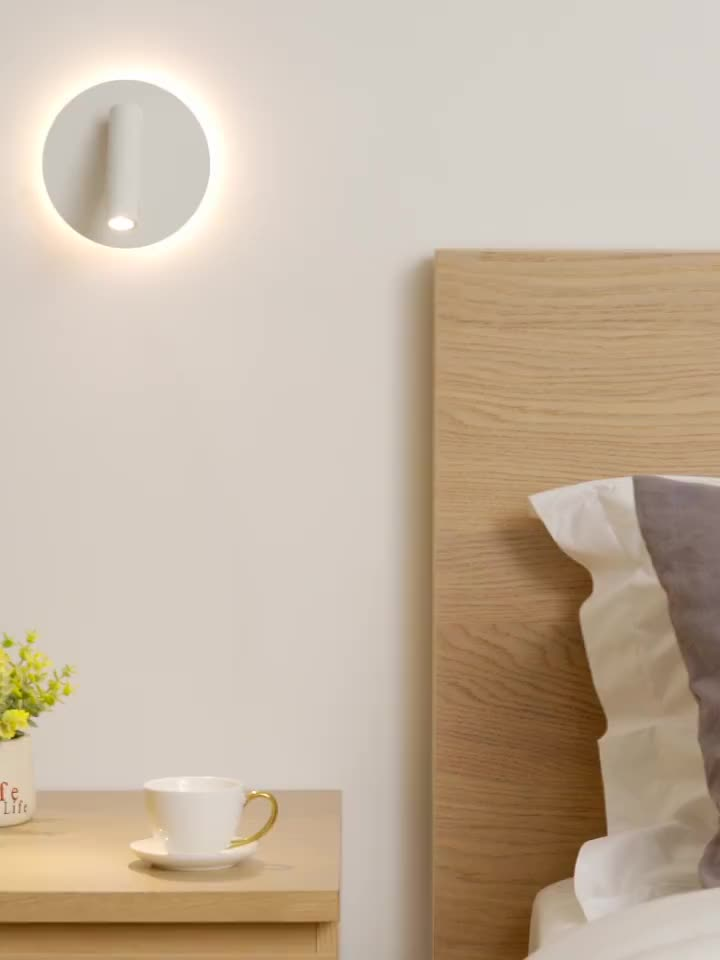 9W Hot Sale Fancy Decorative Indoor Outdoor Reading Lamp Modern 9W LED Wall Light IP20 Modern For Home Stairs Bedroom