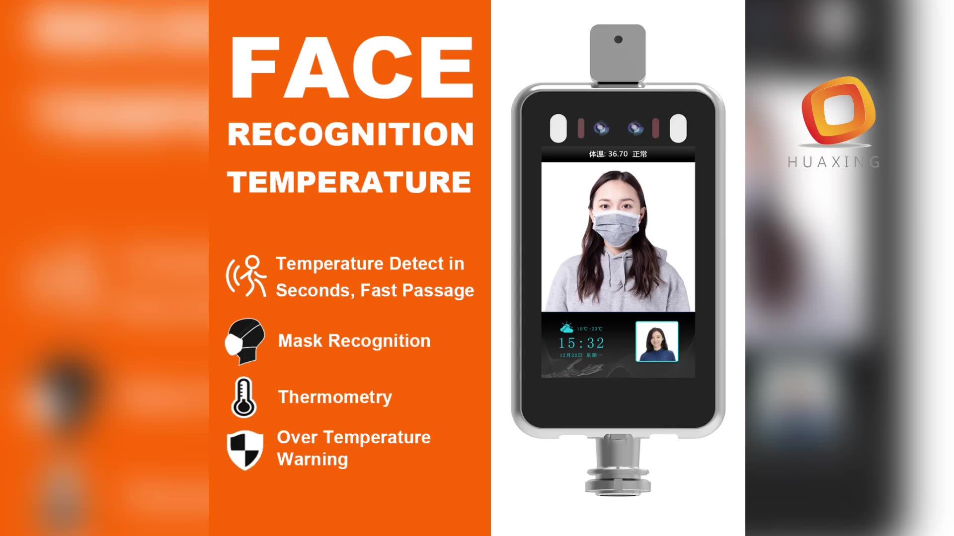 אדם גוף מדידה תרמית זיהוי זיהוי פן מצלמה עם טמפרטורת חיישן