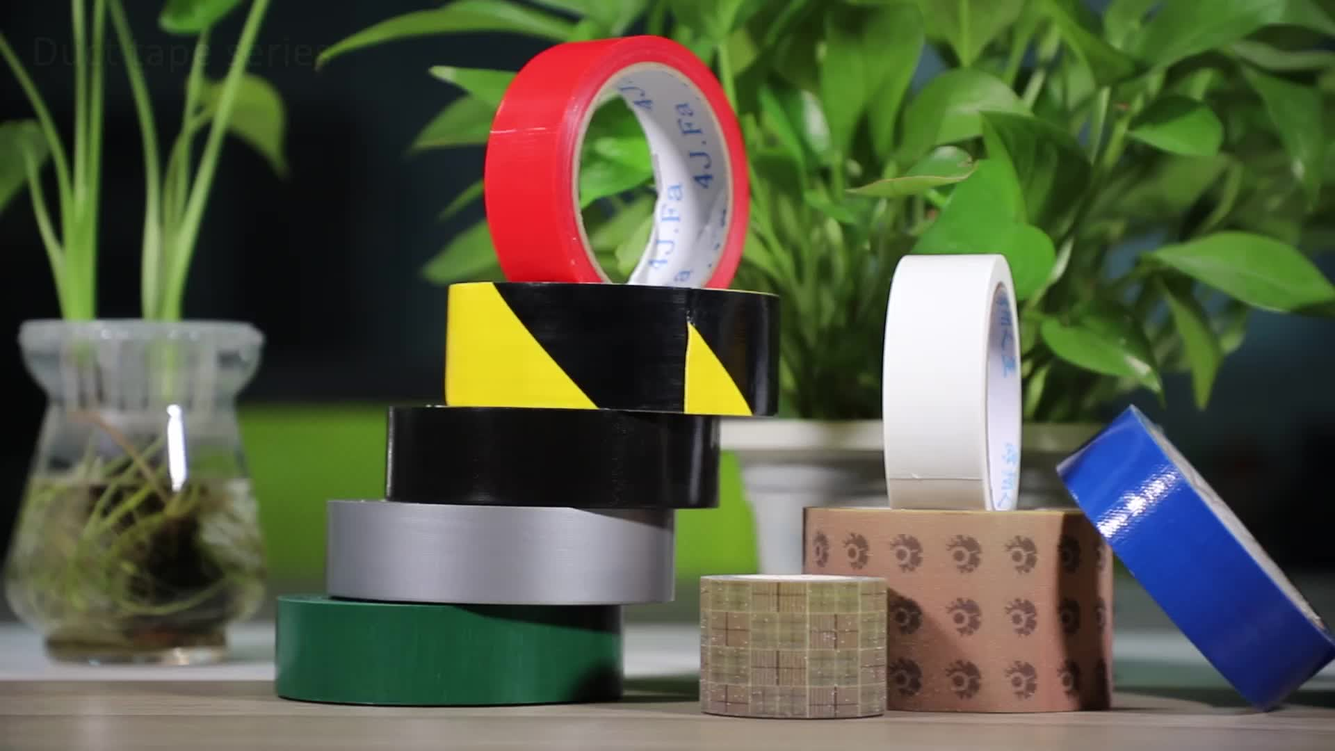 Free sample cloth duct tape for fixing carpet edges and protective film on exhibition floors