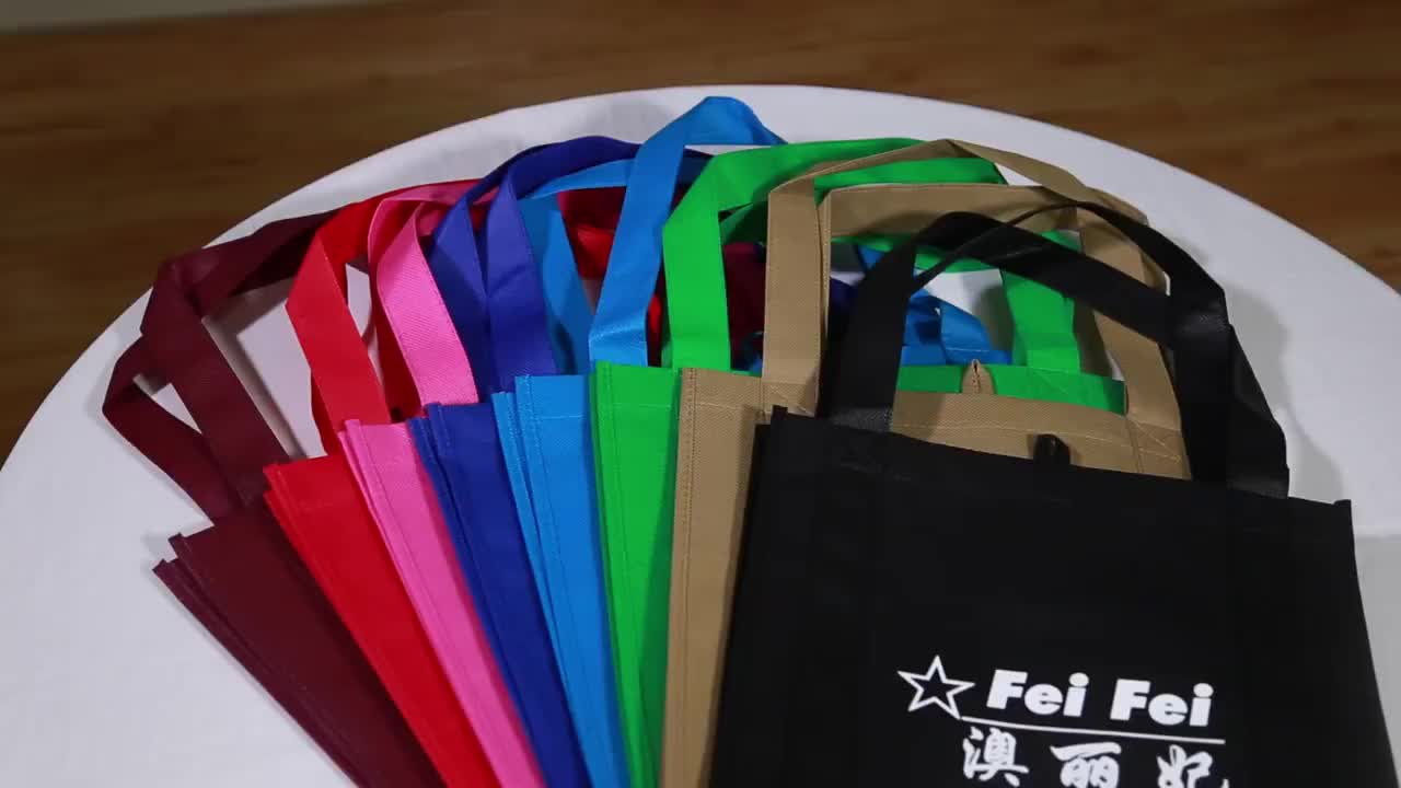 China 100% new material high quality non woven shopping bag