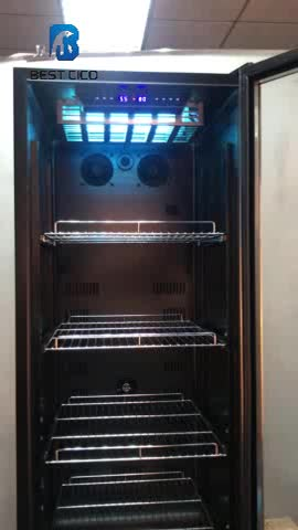 New Best Seller 380L Dry Aged Meat Cabinet Meat Display Refrigerator for salami and hams