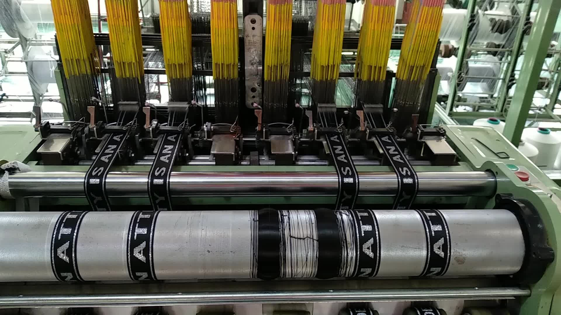 Hersteller custom 35mm hohe qualität nylon jacquard elastische band für frau unterwäsche bund