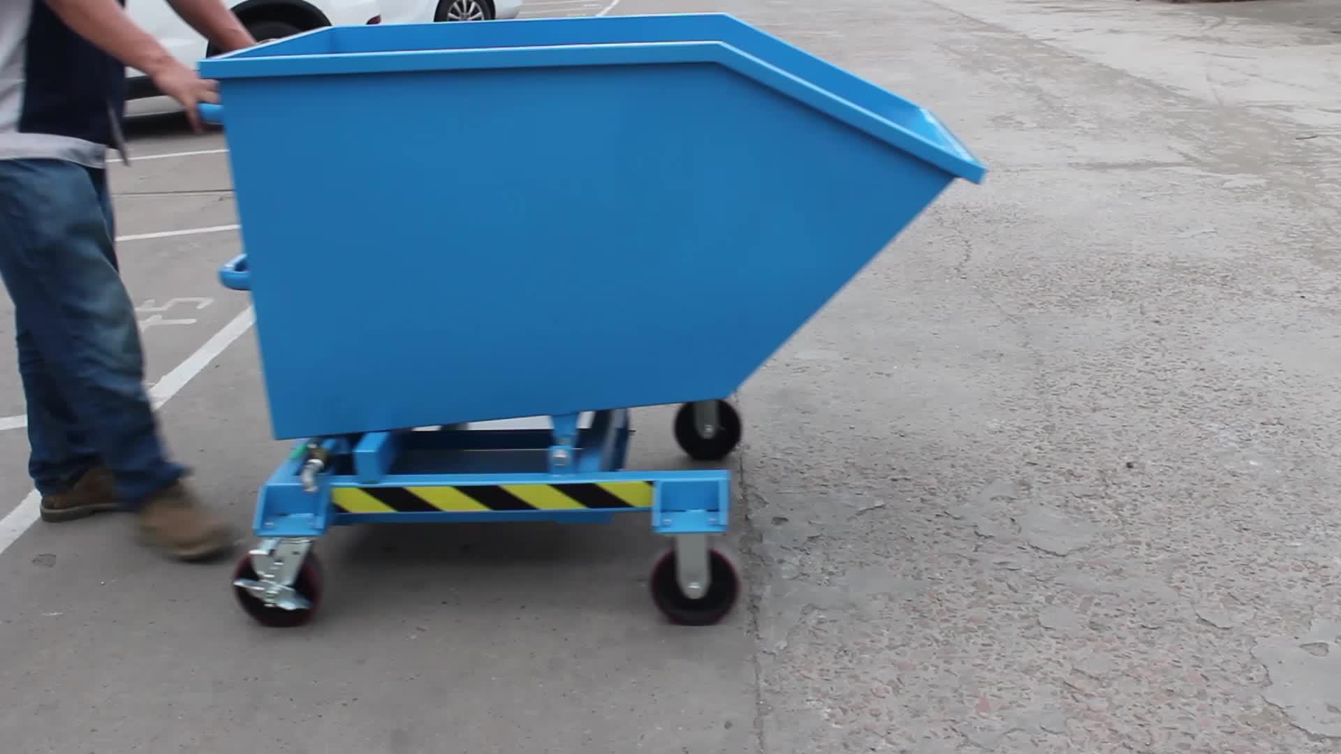 Powerway Ijzer Staal Afval Zelf Dumping Heftruck Hopper