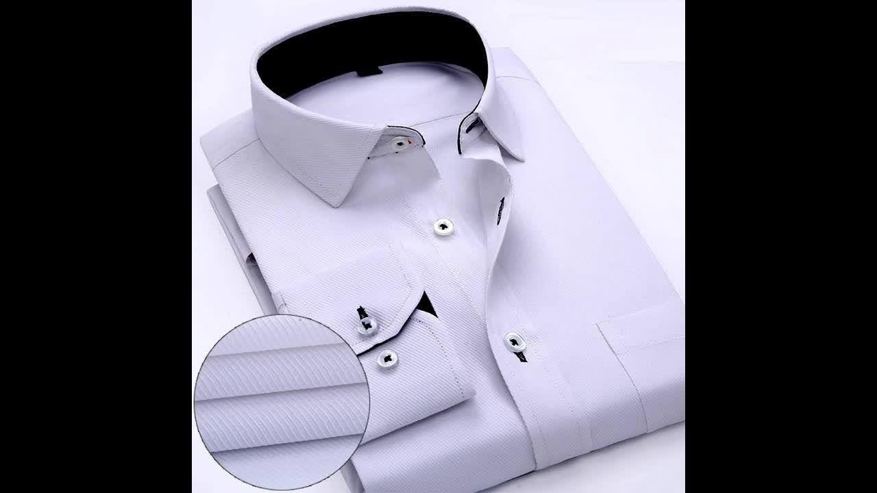 Bangladeş üreticisinden Erkekler Yüksek kaliteli moda bakmak kontrol deseni Uzun kollu gömlek