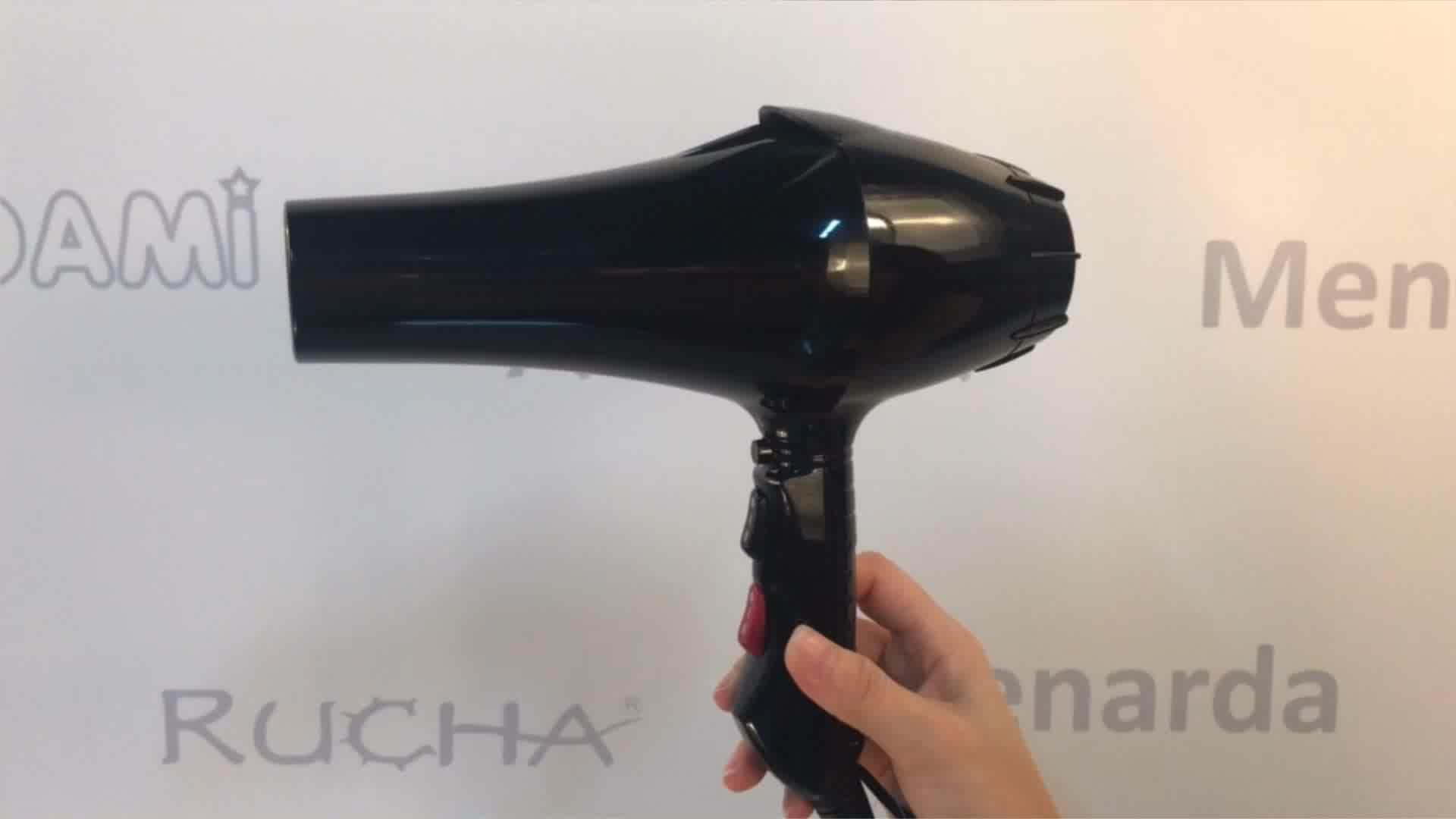 New popular Ultra-Power lightweight infrared ionic Professional hair dryer