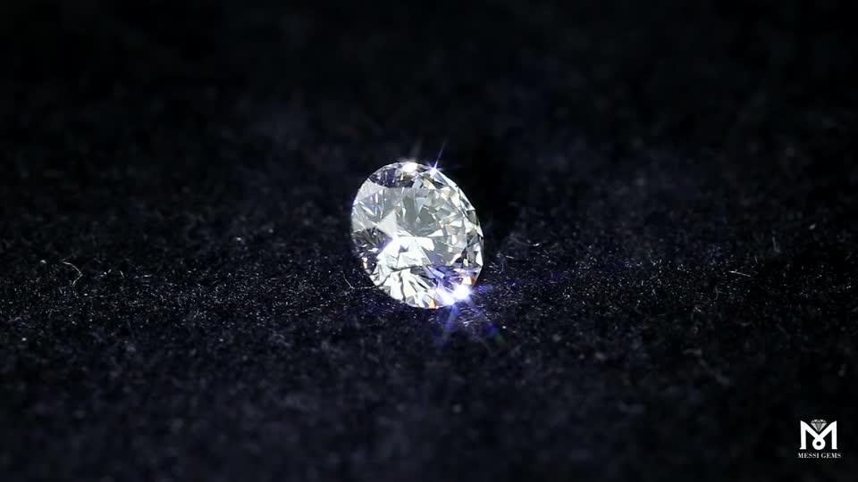 0.1-2 Carat Allentato Eccellente Lucido Lab Grown HPHT Sintetica CVD Diamante