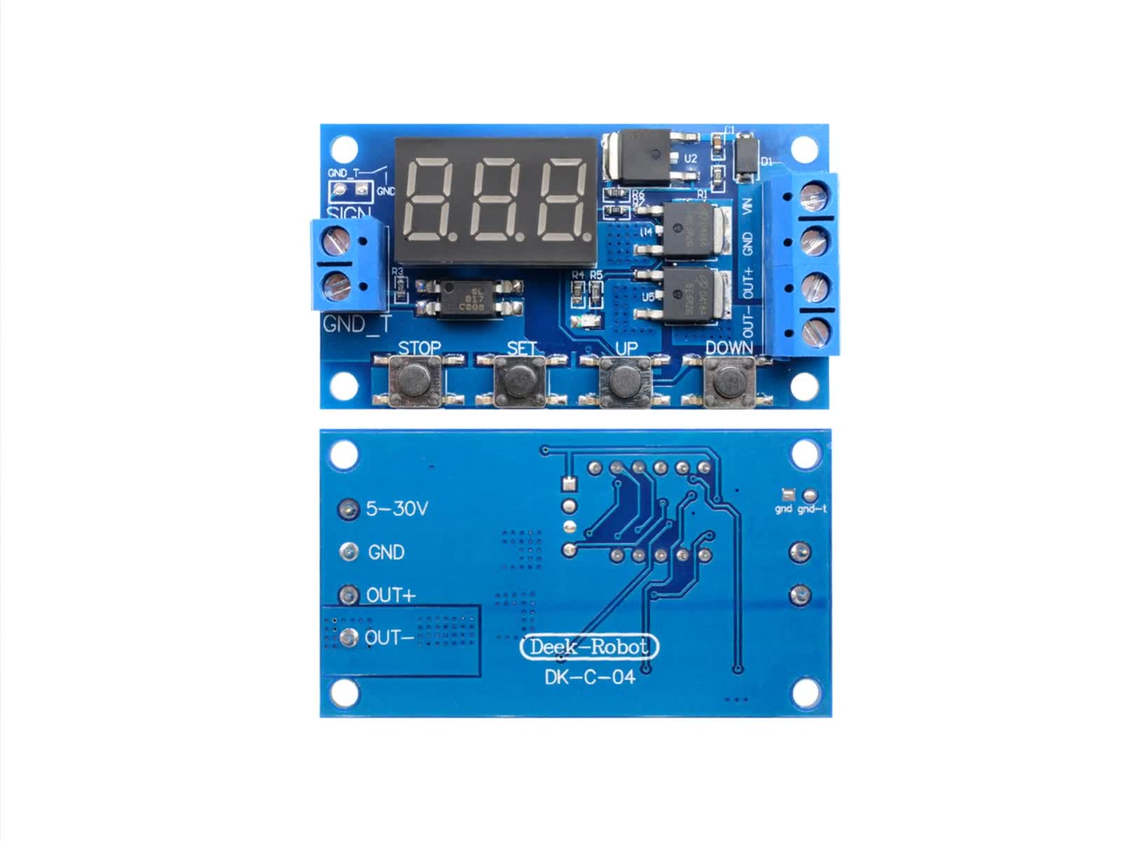 Trigger Cyclus Timer Vertraging Schakelaar 12 24 V Printplaat Dual MOS Buis Controle Module Relaismodule