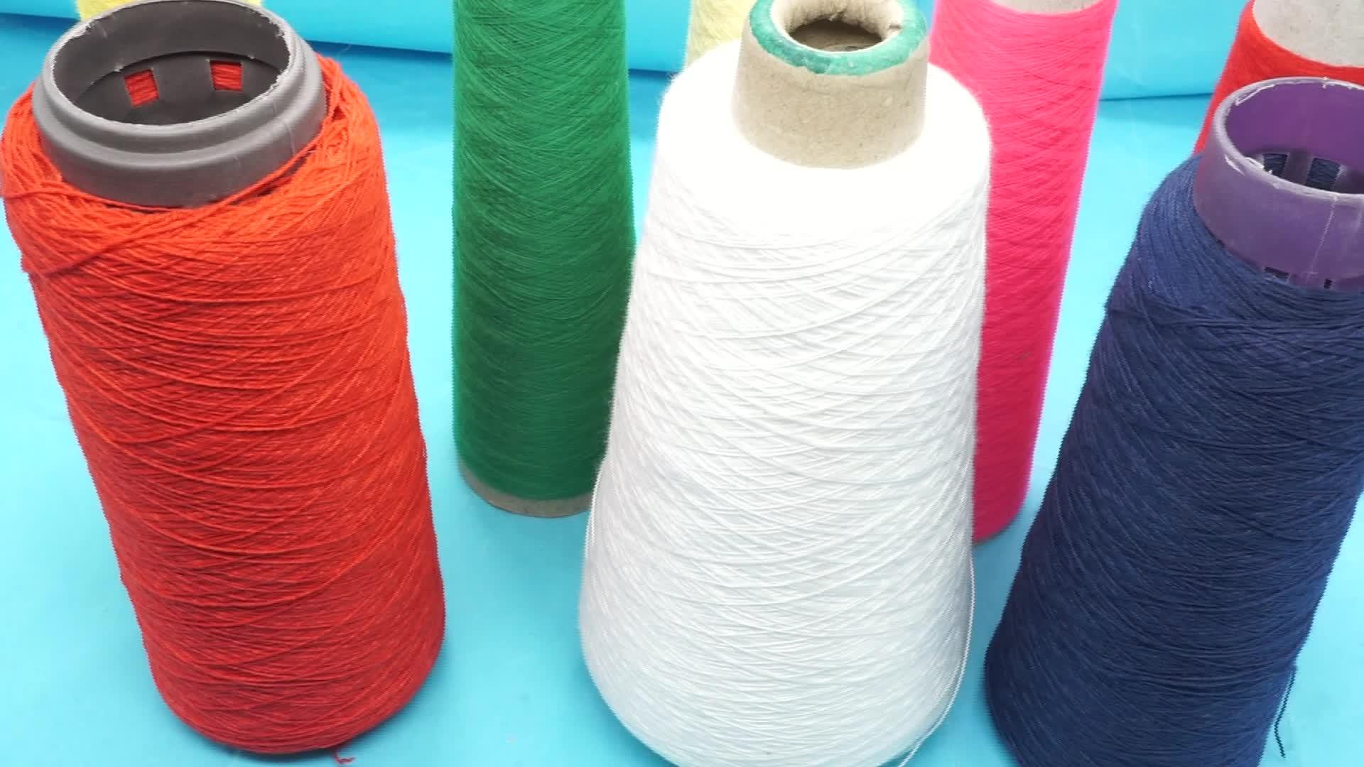 Dope poliestere tinto filato per lavorare a maglia