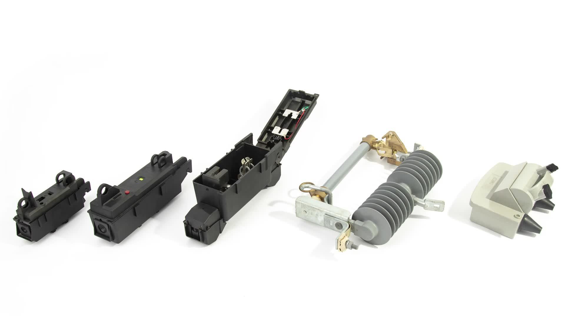 24-27KV high voltage outdoor expulsion dropout fuse cutout polymer fuse cutout