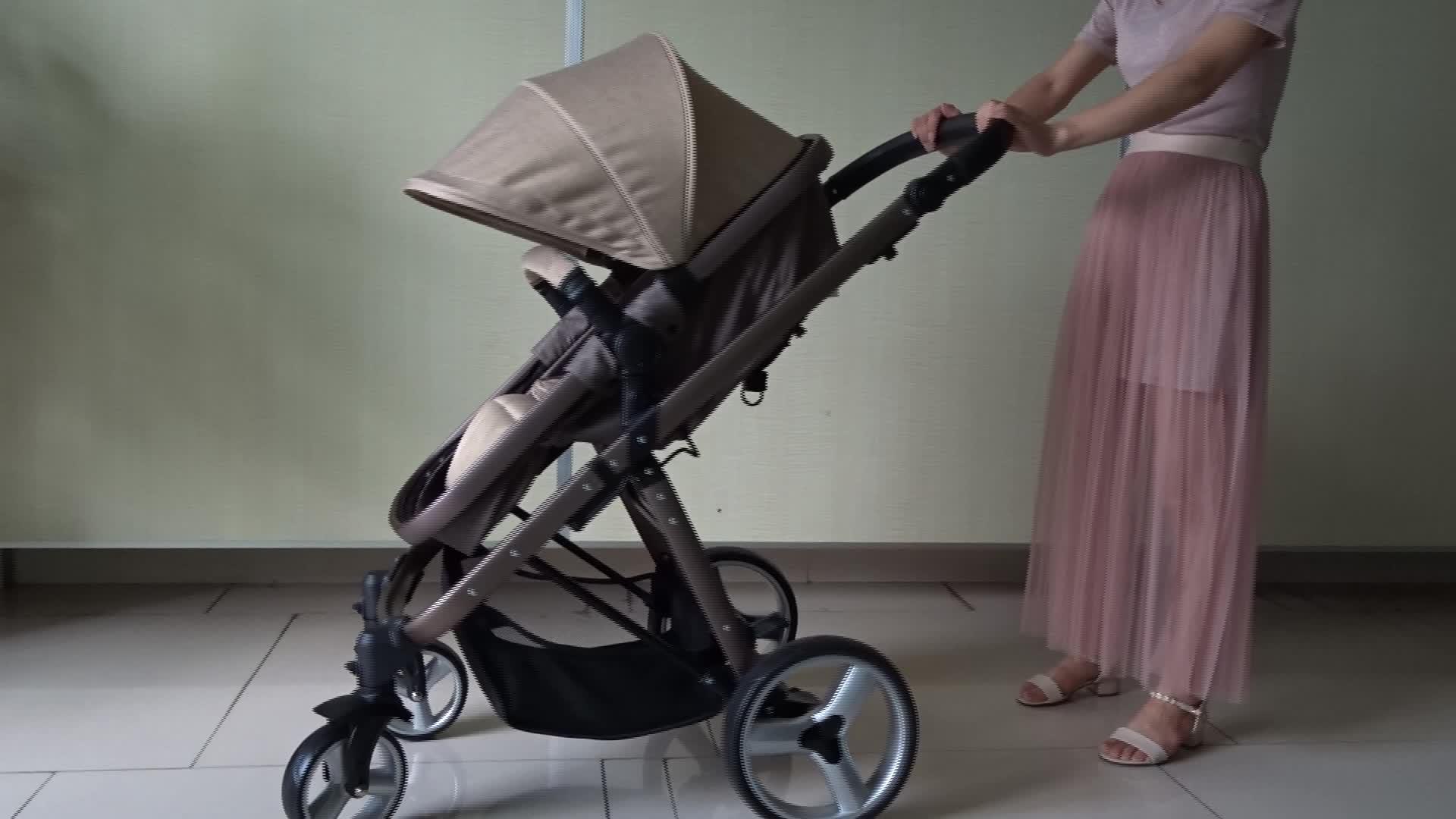 China Manufacturer Europe Travel System Baby Pram Baby Buggy 3 in 1