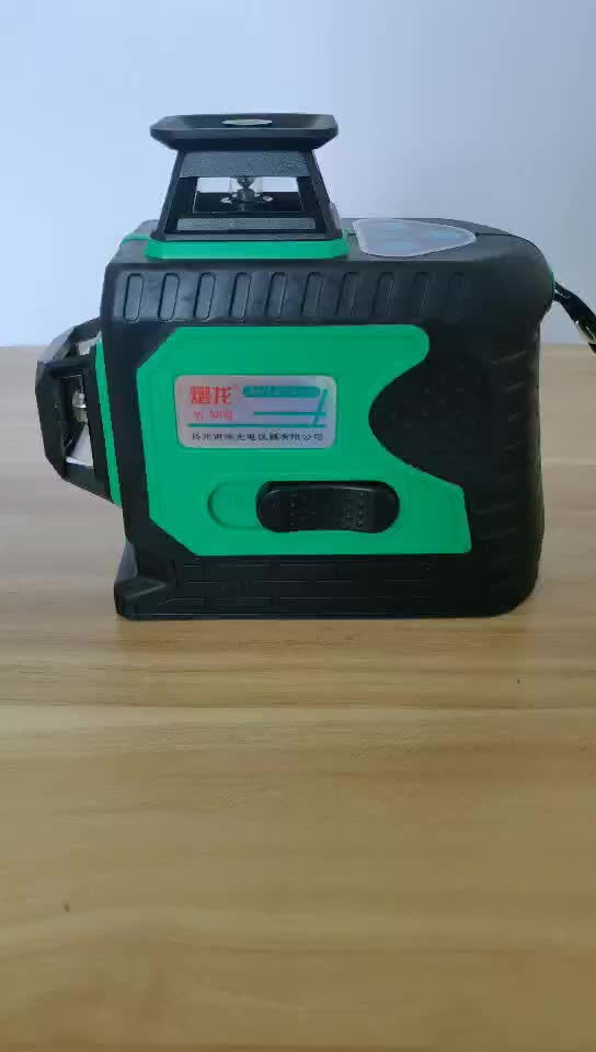 12 Lines 3D Green Laser Levels Self-Leveling 360 rotary laser level