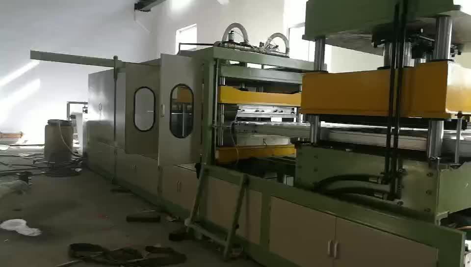 Otomatik vakum şekillendirme makinesi eps şekil kalıplama makinesi