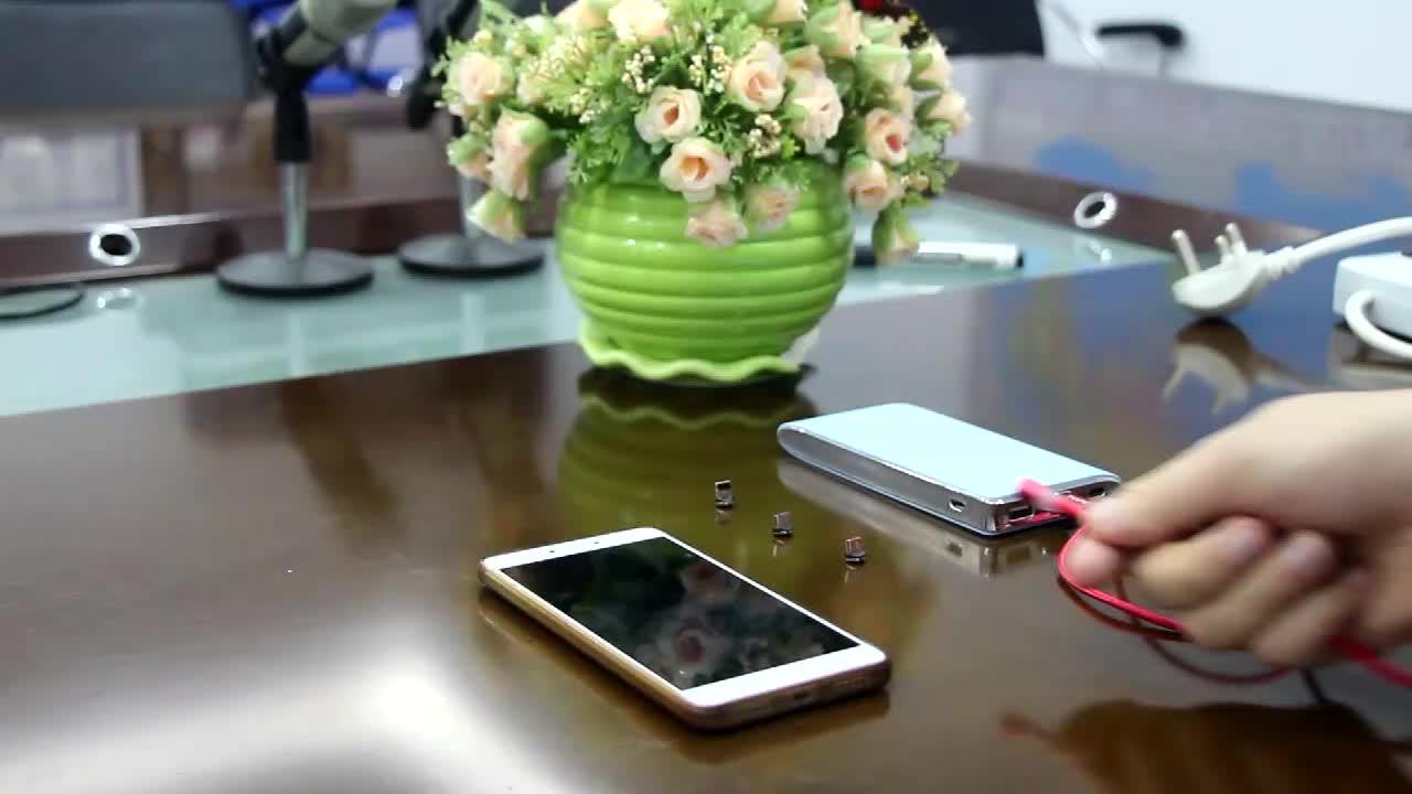 3 Trong 1 Điện Thoại Di Động Sạc Cáp Điện Thoại Di Động Sạc Magnetic USB Cable Cho Micro Usb Loại C