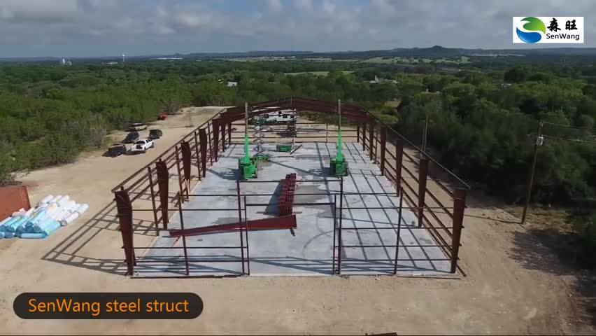 Low Cost Prefabricated Warehouse Building Steel Structure Warehouse