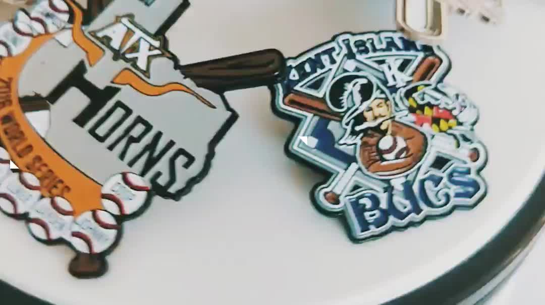 Wholesale custom metal soft enamel sports baseball trading pin