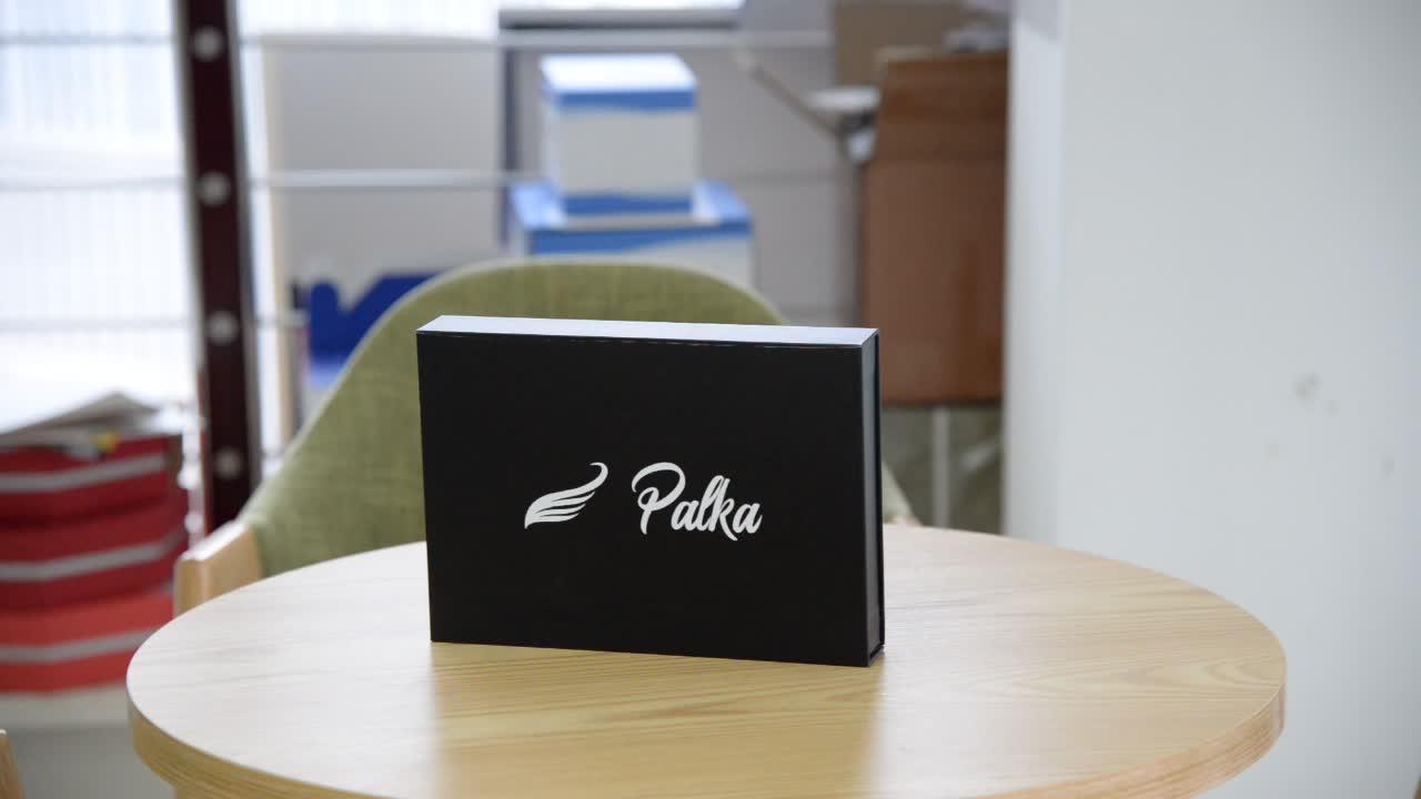 OEM fabriek gemaakt black box goedkope prijs groothandel custom marmer doos luxe gift zwart magnetische magneet doos met LOGO
