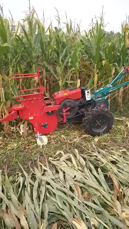 newstyle  small  Maize Straw Crusher Corn Harvester For Walking Tractor for low price