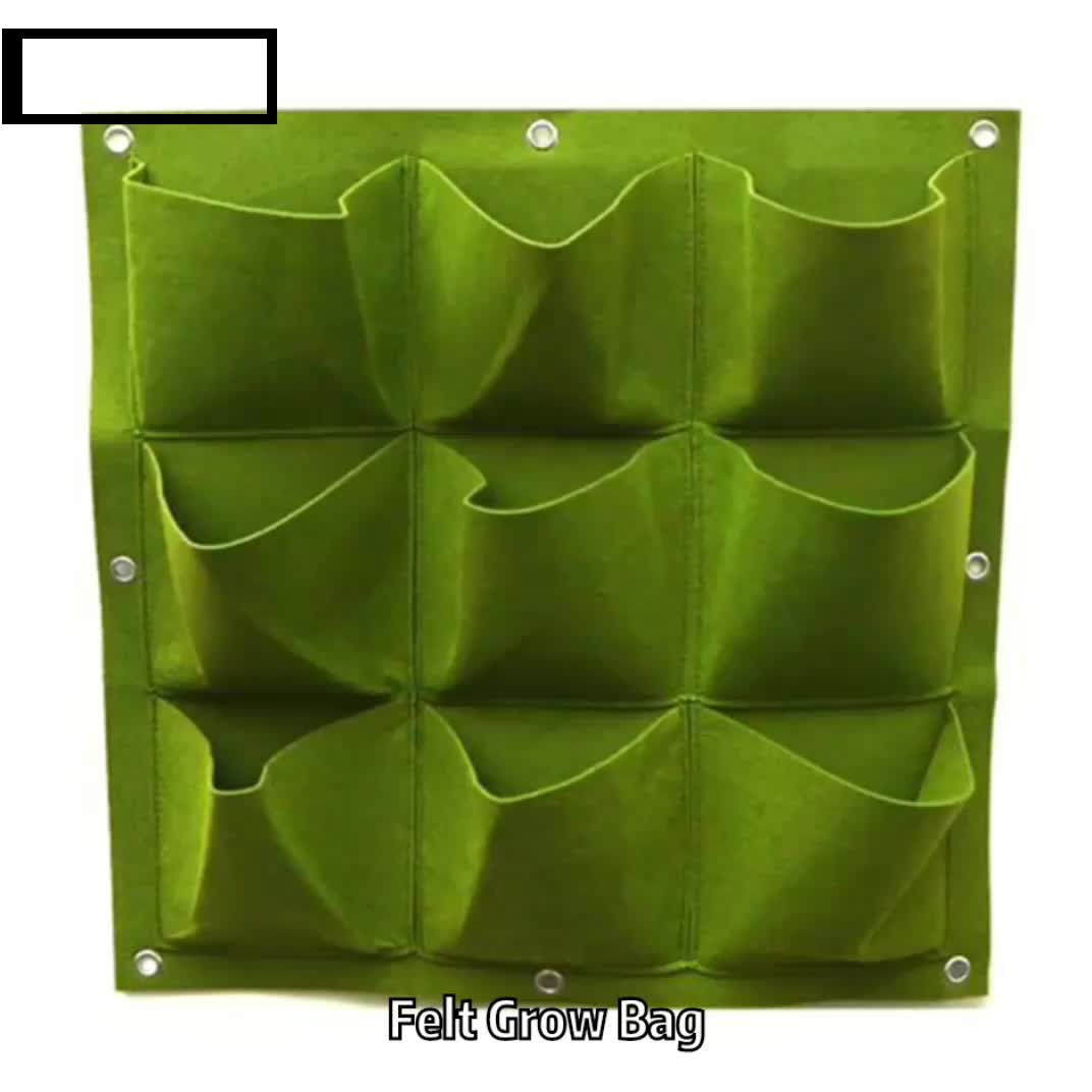 New Arrival 10 Gallon Garden Potato Grow Pouch Vegetable Heavy Duty Durable Bags Harvesting Eco Friendly Grow Bag