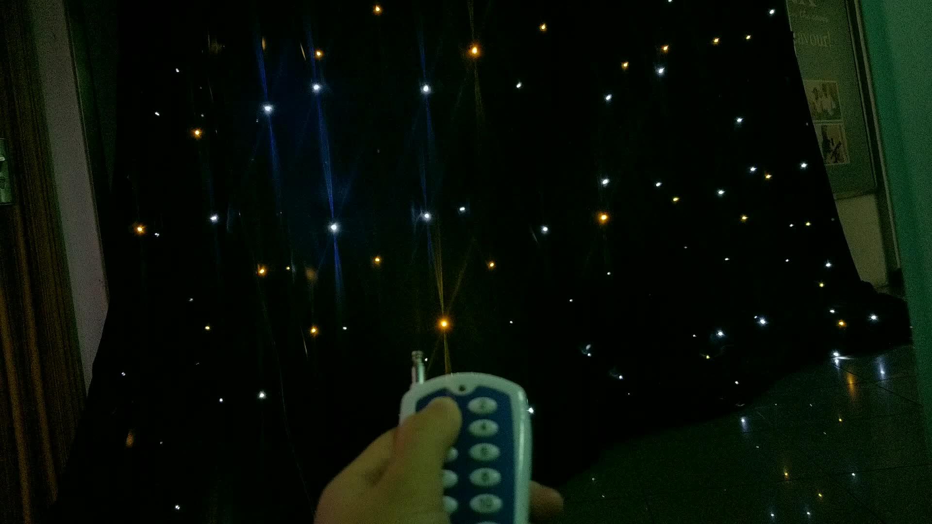 Remote control soft led 빛 matrix 커튼 웨딩 stage 배경으로 대 한 \ % sale