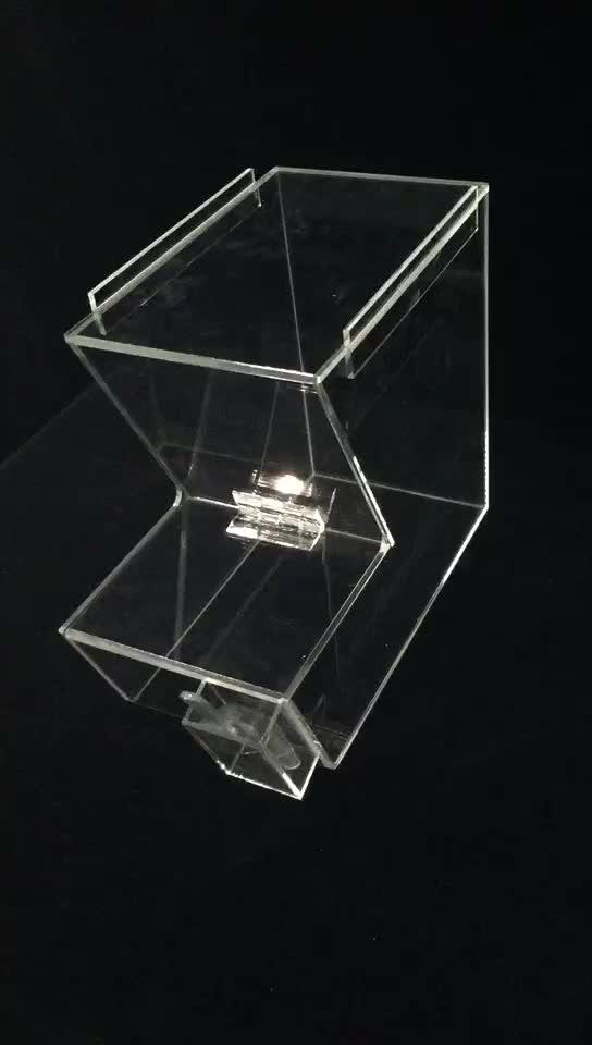 Plexiglas süßigkeiten bin acryl getrocknete obst dispenser für händler speichert markt lebensmittel dsipaly box
