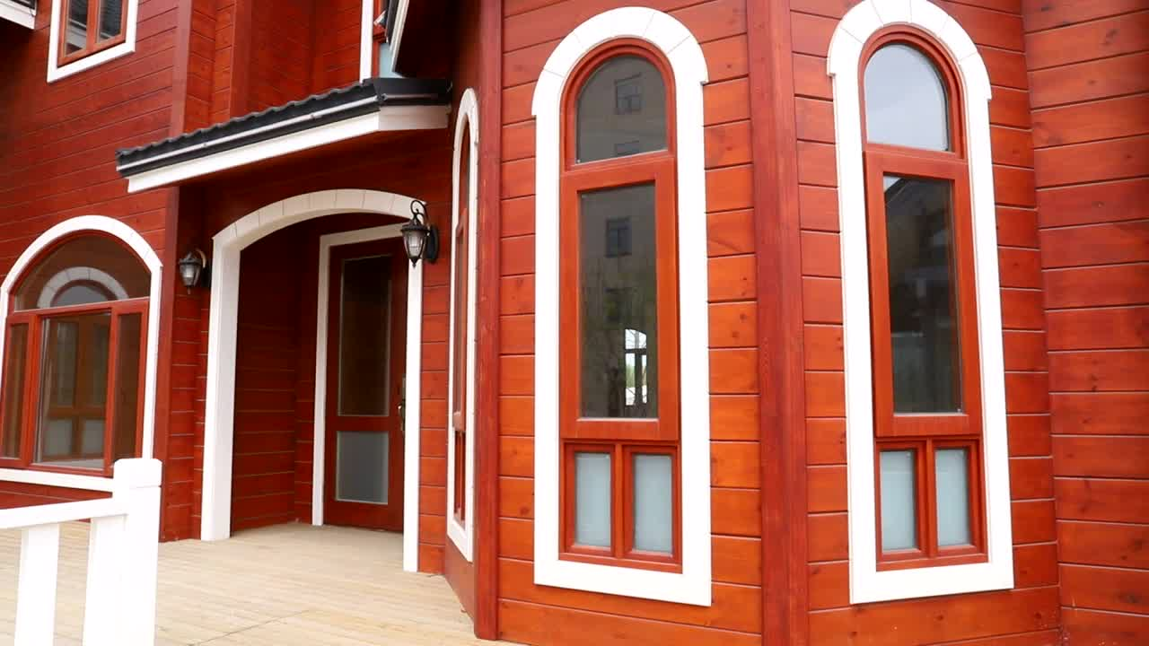 Günstige Beliebte Vorgefertigten Holzhäusern für wohnzimmer KPL-016