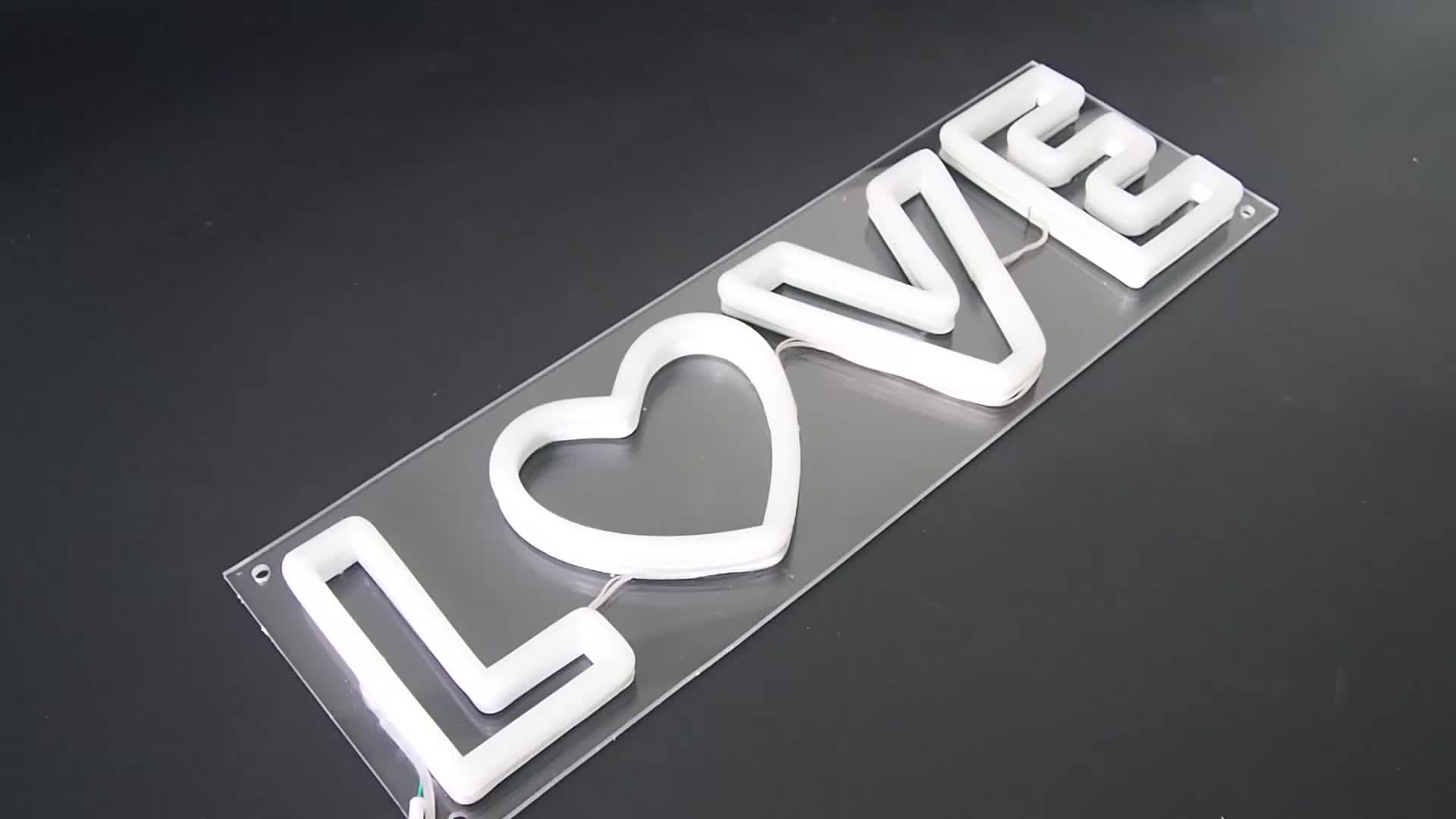 Advertising PVC and Acrylic 12v Led Decoration Neon Bar Sign