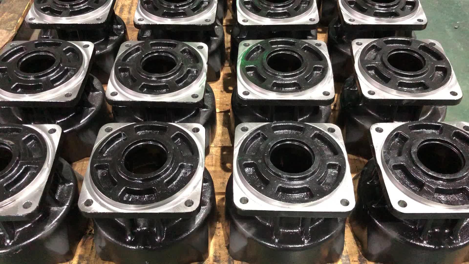 2020 Ningbo fabrika Custom made yüksek hassasiyetli kum döküm ve işlenmiş dökme demir parçaları