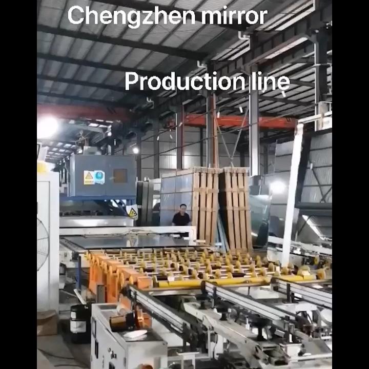 공장 공급 3-8 미리메터 호텔 장식 벽 거울 골동품 거울