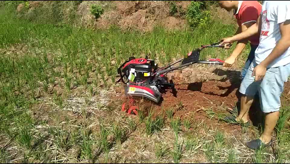 Mini Rotary Máquina Agrícola Cultivador Weeder Leme De Energia A Gás Preço