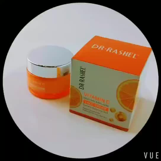 Brightening Moisturizing Whitening Anti Aging Hyaluronic Acid Vitamin C Face Cream
