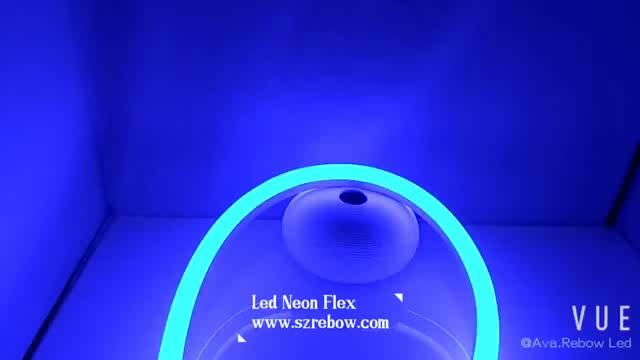 Rebow Прямая доставка, произведенные на фабрике в городе Шэньчжэнь Оптовая продажа силиконовый светодиодный гибкий неоновый светодиодный Дюралайт 8X16mm 6*12 мм